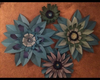 Giant Paper Flower Arrangement