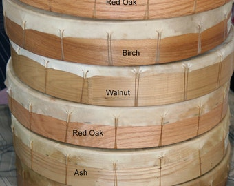 "16"" Hand Drum (Healing Drum) Real Wood Frame"