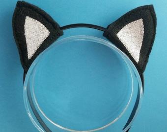 Felt Kitty Cat Headband