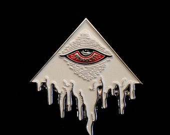 Eye of Decadence Pin (silver)
