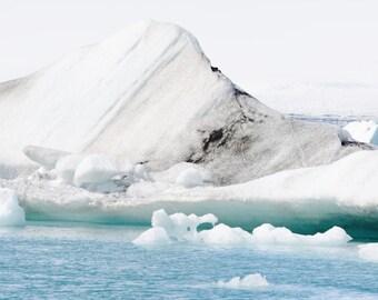 Iceland Blue- Digital Photography, Iceland Photography, Wanderlust Photography, Iceland, Landscape Photo, Iceland Landscape, Iceberg Photo