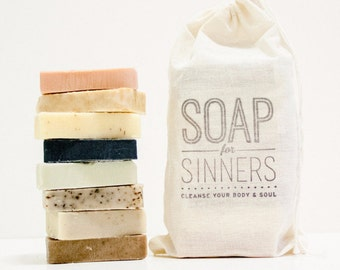 Handmade Soap Sample Pack