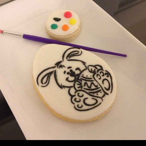 Easter Paint Cookie (shipping listing)