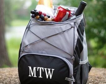 Monogrammed Backpack Cooler, Insulated Cooler