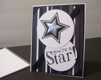 Fun Stampers Journey Card - You're a Star!