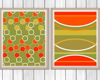 Scandinavian Art, Set of 2, Scandi Art, Instant Download, Scandinavian Modern, Home Decor, Printable Scandinavian Art, Wall Art, 8x10, 11x14