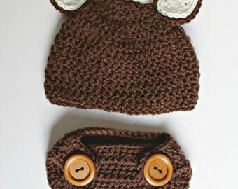 Baby Deer Reindeer Crochet Costume