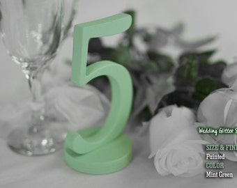 Table Number, Wedding Reception Table, 10 table numbers, Painted SET 1-20