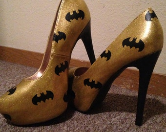 Batman high heels.