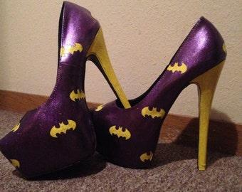Batgirl heels