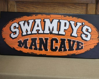 Personalized Man Cave Signs Etsy : Man cave signs personalized