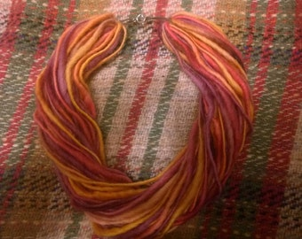 Twisted Layered Yarn Necklace