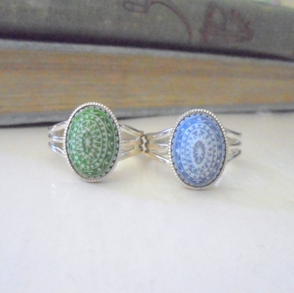 vintage ring mosaik marokkanischen stil ring komplizierte