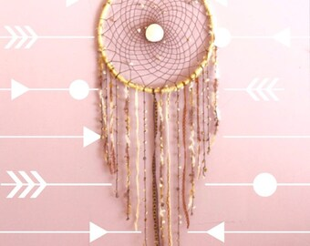 Extra Large~Seashell Dream Catcher with Starfish and a Sand dollar