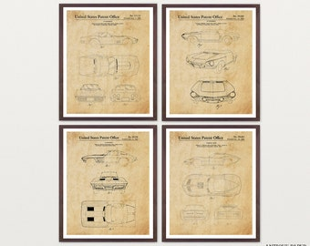 Corvette Patent Collection - Corvette Poster - Corvette Patent Art - Corvette Wall Art - Car Lover - Chevrolet - Teen Room Idea - Boys Room
