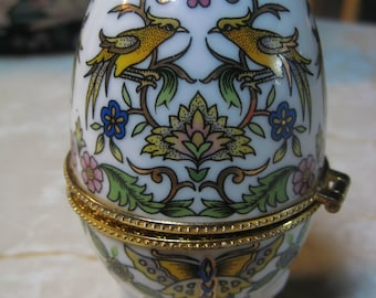 Fine PORCELAIN EGG- Imperial Treasuers