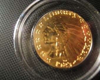 24 KT Pure Gold 1929  INDIAN HEAD Proof