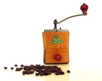 Wooden Vintage Coffee Grinder