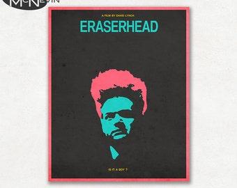 ERASERHEAD Movie Poster, Fine Art Print
