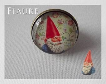"Round ring ""Garden Gnome"""