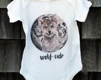 Wolf Cub Onesie