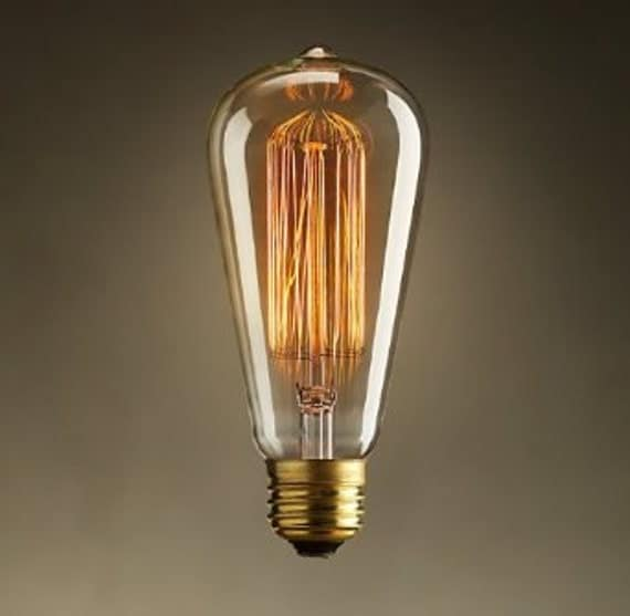 Classsic style Edison light bulb