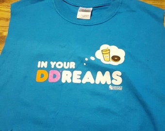 In Your Dreams Upcycled Crop Top Size Small