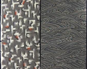 Vintage kimono fabric-2 pcs #7305