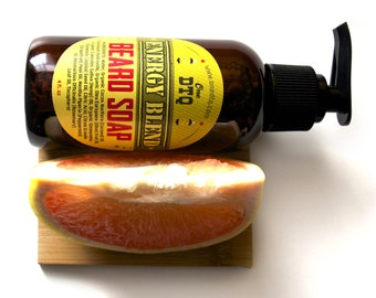 Beard Soap- Energy Blend is a perfect beard wash to clean both the beard and the sensitive skin