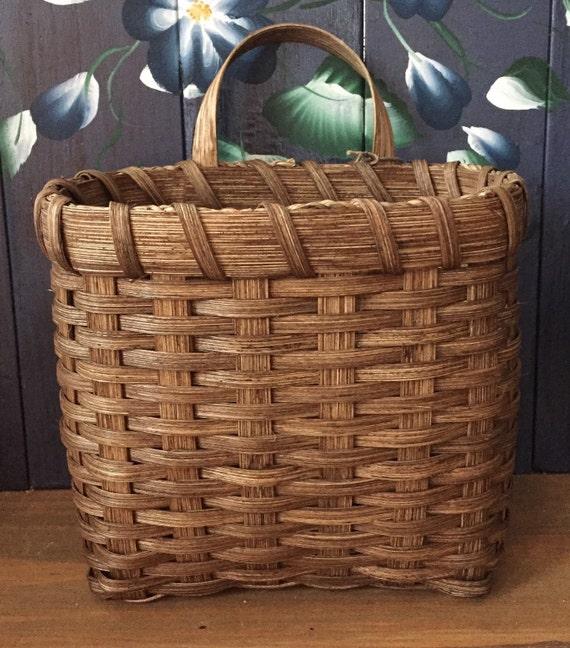 handmade basket mail basket table basket wall basket made. Black Bedroom Furniture Sets. Home Design Ideas