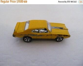 Pontiac GTO 1969 Yellow toy car