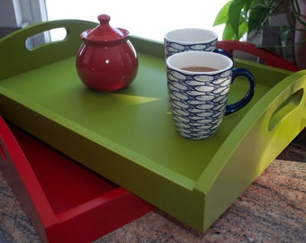 Serving Trays, Breakfast Trays, Dovetail Serving Trays