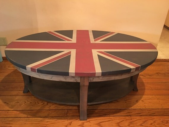 Union Jack Coffee Table By Montebellord On Etsy