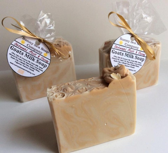Oatmeal Milk & Honey~Goats Milk Handmade Soap~Bar Soap~Cold Process Soap~Artisan Soap