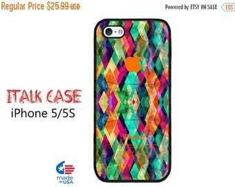 HOT SUMMER SALE Colorful Geometric iPhone 5S Case  iPhone 5 Case iPhone 5 Phone Case iPhone covers iPhone iPhone 5S iPhone 5S Case iPhone 5S
