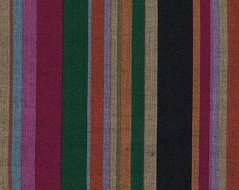 1/2 yard Kaffe Fassett Roman Stripe Dark fabric
