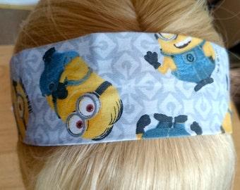 Minions Inspired Headband