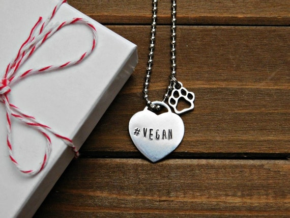 #Vegan Necklace