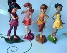 Fan pulls, Tinkebell and Friends, kids room decor, lighting decor, Disney Decor