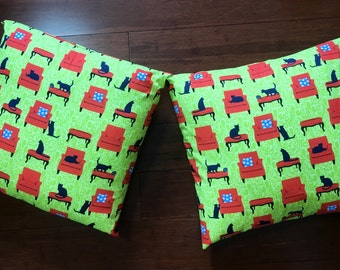 Cat pillows  set of two