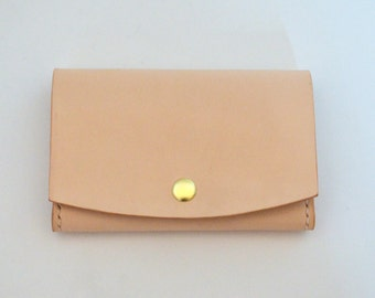 Leather Wallet, Card Case, Business Card Holder