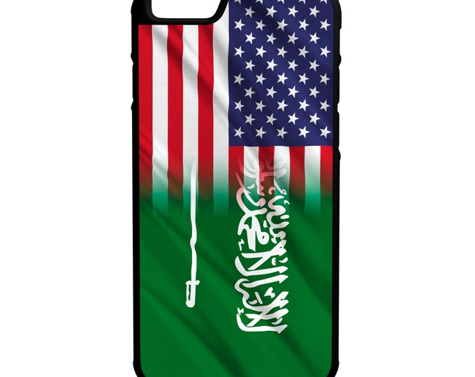 Saudia Arabia Flag iPhone Galaxy Note LG HTC Hybrid Rubber Protective Case