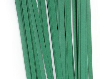 Quilling Paper strips Dark Green Big Pack