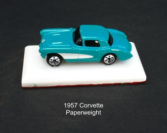 Handcrafted 1957 Corvette decor