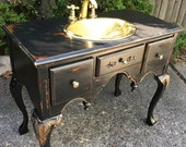 Vintage French Bath Vanity - OTHER ADDED SERVICES - Sharon L.