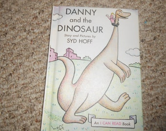 """Vintage Children's Book """"Danny and the Dinosaur"""""""