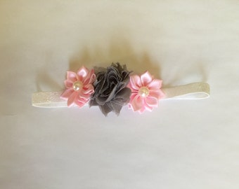 Sparkle trio headband-Newborn