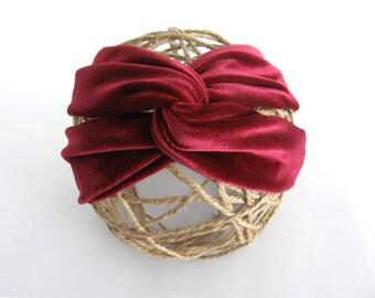 Headband for velvet hair several colors