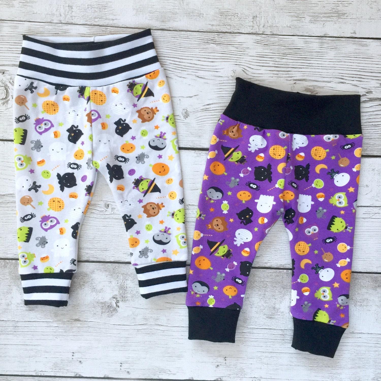 Halloween leggings Halloween pants baby leggings joggers