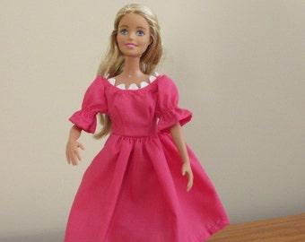 Barbie coral dress